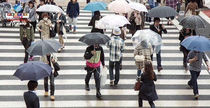 Chuvas torrenciais e queda de temperatura pelo Japão. Veja como vai ficar o tempo hoje!