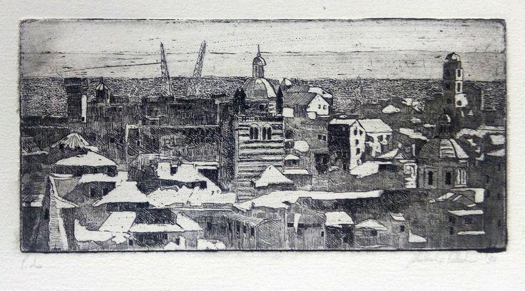 Tecniche di incisione: Acquaforte Acquatinta di Maddalena Palladini