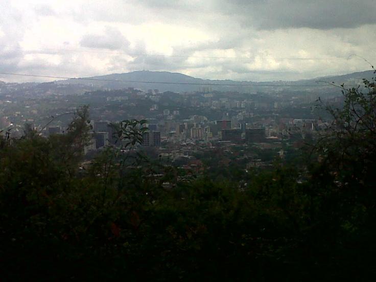Caracas desde el Cerro El Avila.