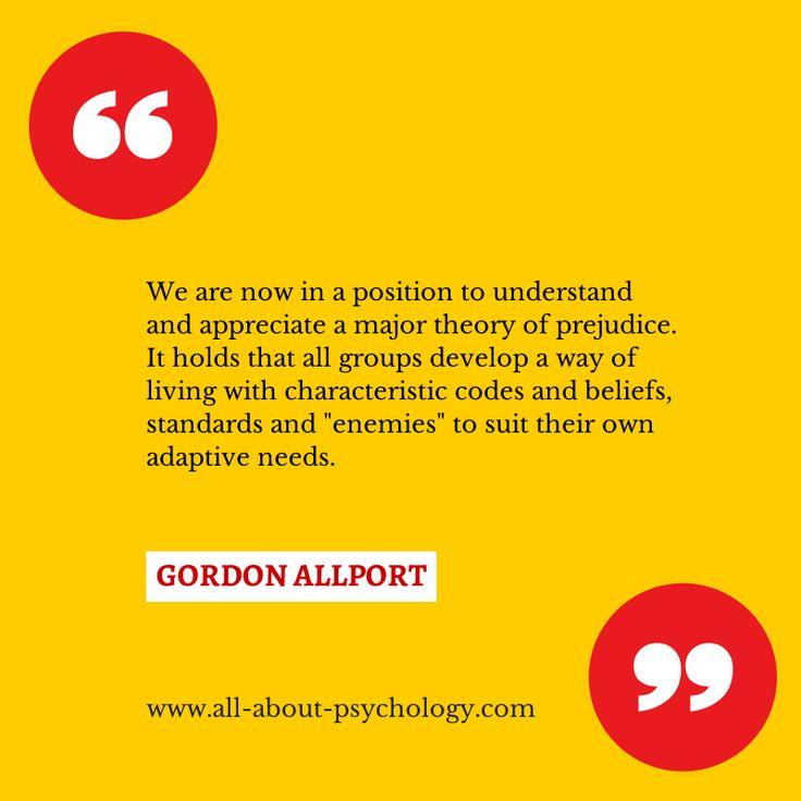 allport gordon paper research