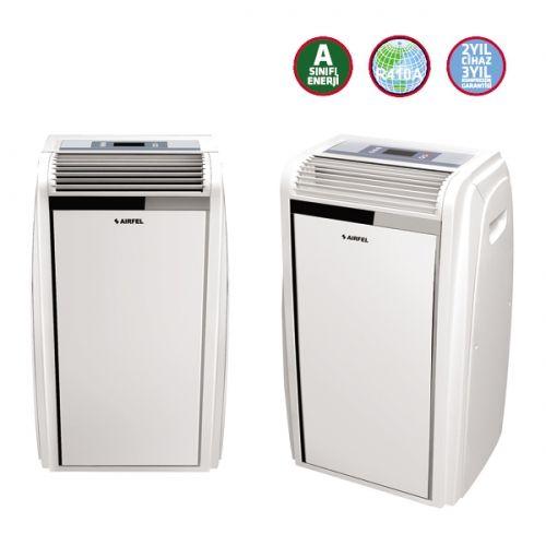 Airfel AP09-3102/R2 Mobil Klima (9.000 Btu) Dijital ekranı ve uzaktan kumandası ile kolay kullanımı sağlayan bu klima, A enerji sınıfı ile de düşük tüketim harcayarak tasarruf etmenize yardımcı olacaktır. Timer özelliği ile siz evde yokken ortamınızı istediğiniz ısıya getirecek olan bu klimayı 24 saate kadar ayarlayarak istediğiniz saatte otomatik olarak başlamasını sağlayabilirsiniz. http://www.beyazesyamerkezi.com/Airfel-AP09-3102-R2-Mobil-Klima-9-000-Btu.html