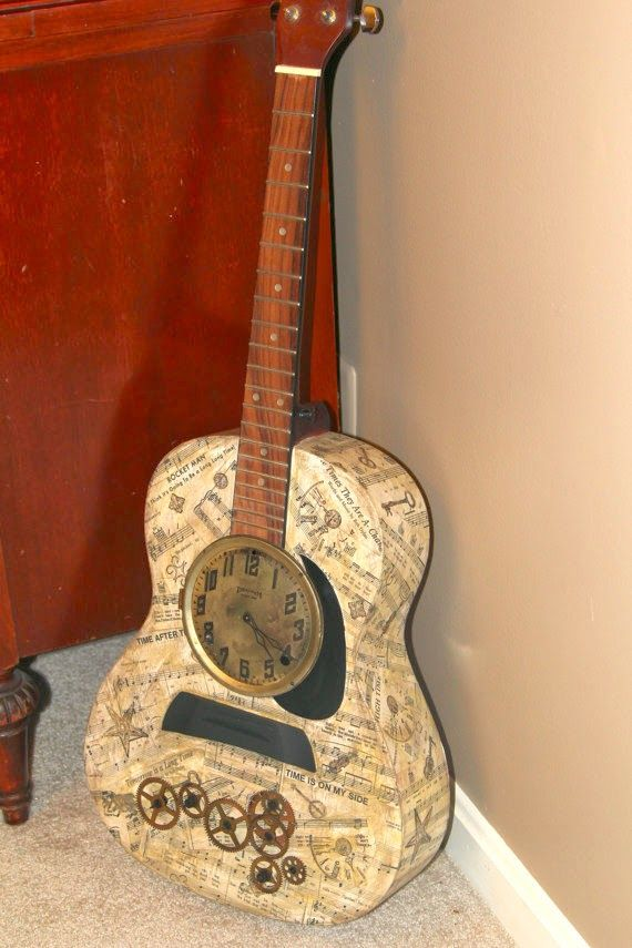 74 best diy with guitars images on pinterest guitars guitar diy the art of up cycling repurposed guitars really cool ideas to repurpose guitars solutioingenieria Gallery