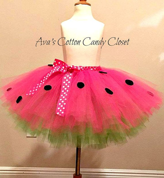 Watermelon tutu It's almost summer and by AvaCottonCandyCloset