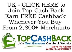 Get Free Cashback on shopping, insurance, utilities, holidays etc. Click the pic for details.