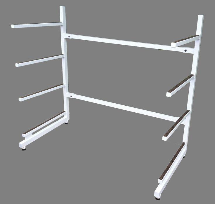 Stand Up Paddle Board Racks. Best SUP racks in the business! #suprack #paddleboardrack #supstoragerack #AAMP