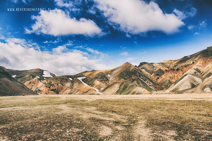 Landmannalaugar tęczowe góry