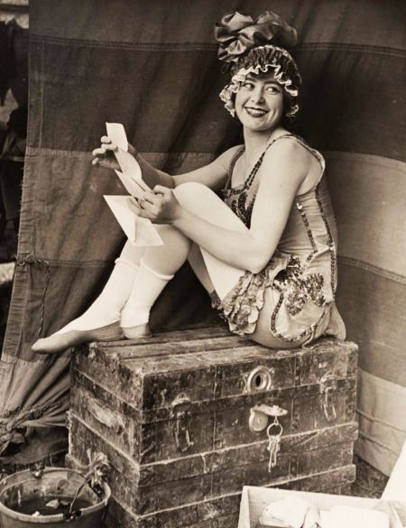 Circus Lady by Raymond M. Stagg c.1920
