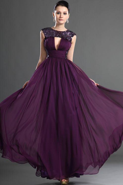 Cristallini Purple Gown