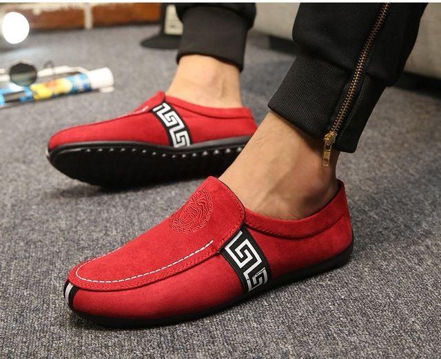 Los hombres de los Holgazanes 2016 Primavera Moda Hombre Zapatos Casual Slip On Pisos Zapatos de Conducción Cómoda Punta Redonda Calzado Zapatos Hombre