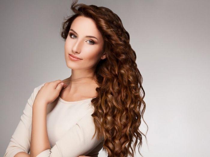 wieder glänzendes Haar nach einer hausgemachten Haarkur