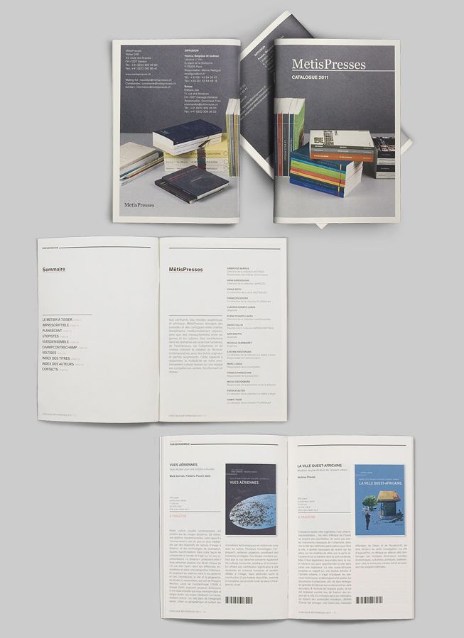 Catalogue Metispresses