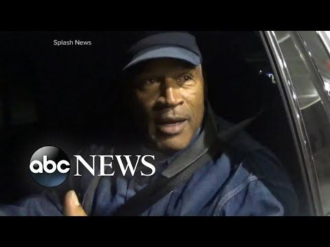 O.J. Simpson speaks for the first time since prison release ABC News