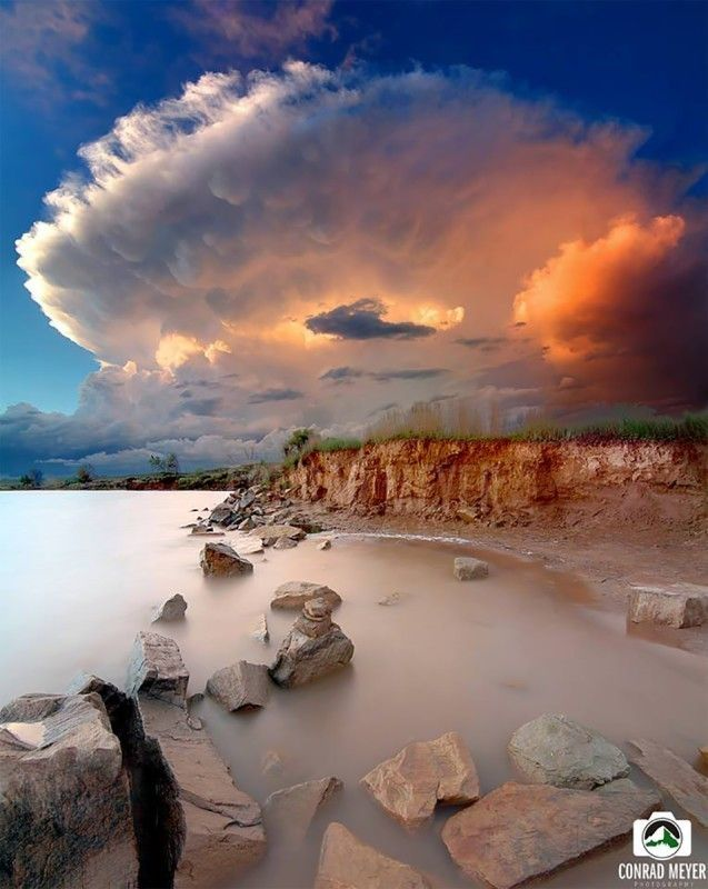 """Top 10 Weather Photographs: 6/6/2015 """"Awe Inspiring Colorado Storm at Sunset"""" – What an incredible sunset yesterday here in Fort Collins, Colorado! A storm blew over the top of us."""