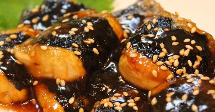 節約満足おかず*海苔巻き豆腐の甘辛焼き by *Anna* [クックパッド] 簡単おいしいみんなのレシピが241万品