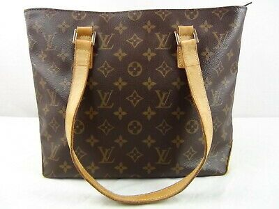 Ebay Ad Us Seller Authentic Louis Vuitton Good Monogram Cabas Piano Tote Bag Lv Purse Piano Bag
