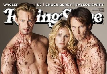 True Blood: Cant Wait, True Blood, Rolls Stones Covers, Trueblood, Alexander Skarsgard, Anna Paquin, Stephen Moyer, Magazines Covers, Eric Northman
