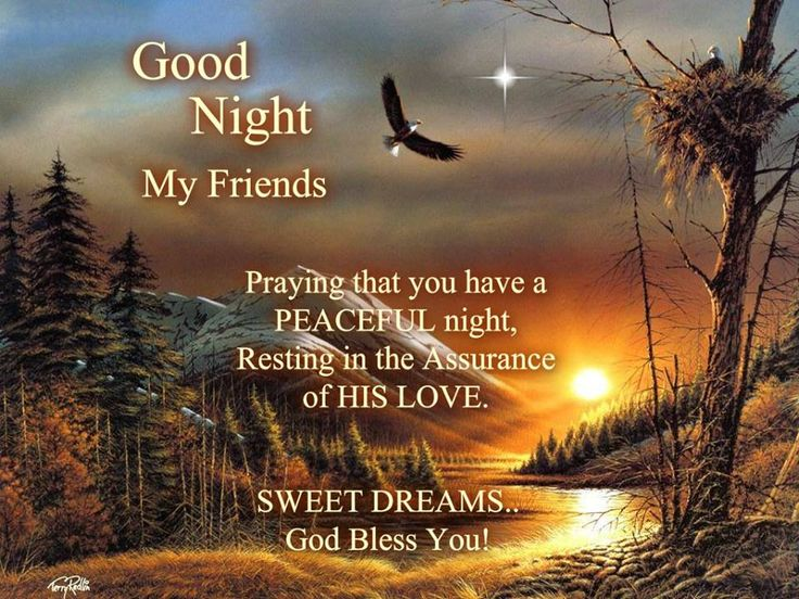 Goodnight Inspirational Quotes On Pinterest: Good Night, God Bless!!