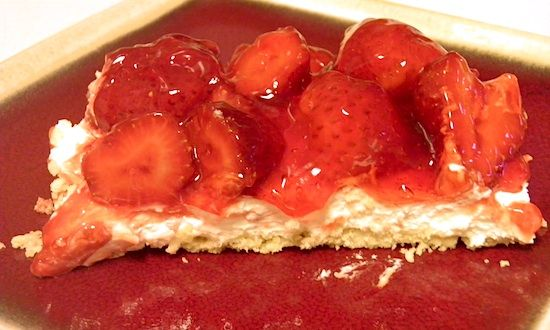 Easy No-Bake Light Cherry Cheesecake! via #SocialMoms | Desserts ...