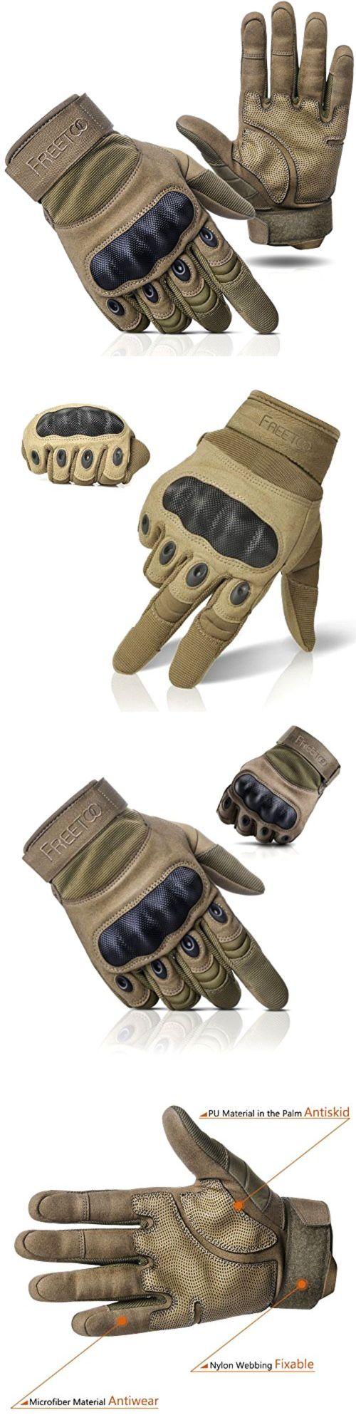 Male gloves ebay - Tactical Gloves 177898 Freetoo Adjustable Men S Tactical Gloves Hard Knuckle Sewn In Brass