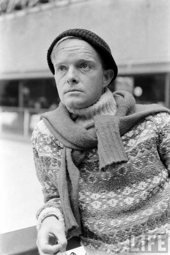 Truman Capote was known for telling interviewers he was born at the Hotel Monteleone.