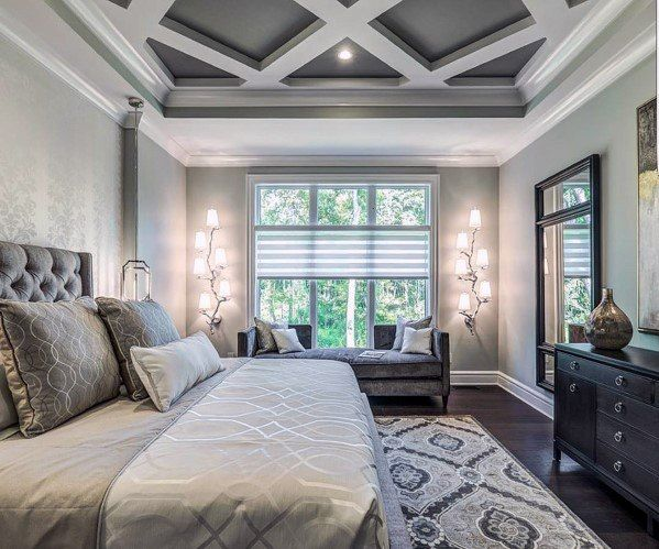 Top 60 Best Master Bedroom Ideas Luxury Home Interior Designs Elegant Master Bedroom Gray Master Bedroom Luxurious Bedrooms