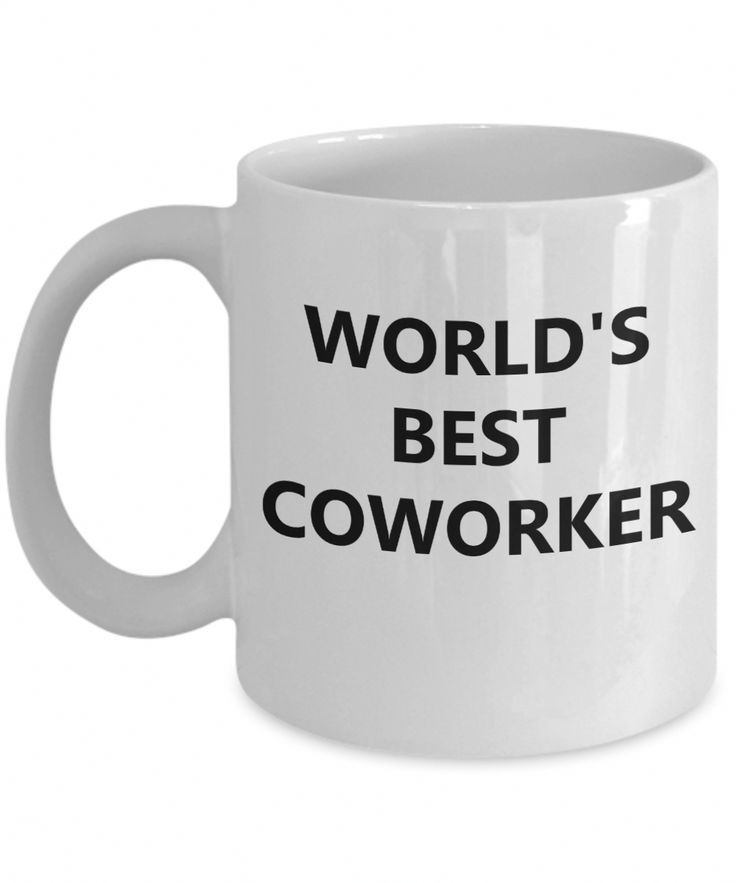 Best Coworker Gifts – Best Gifts For Her – 11 Oz White Cup – Worlds Best Coworker  Checkout More At Yesecart.com #yesecart #gift #present #coffeemug
