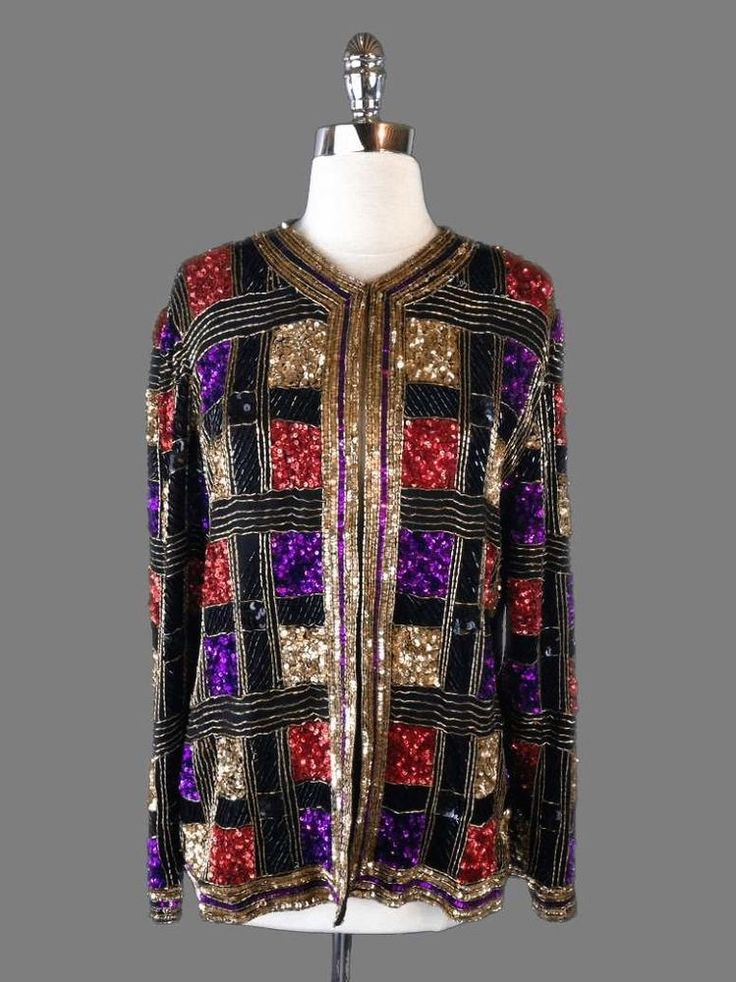 Beaded Jackets and Tops