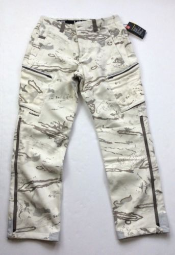 4994438e9c4c5 Under-Armour-Men-Military-Army-White-Snow-Camo-Ridge-Reaper-Hunting-Wool- Pants
