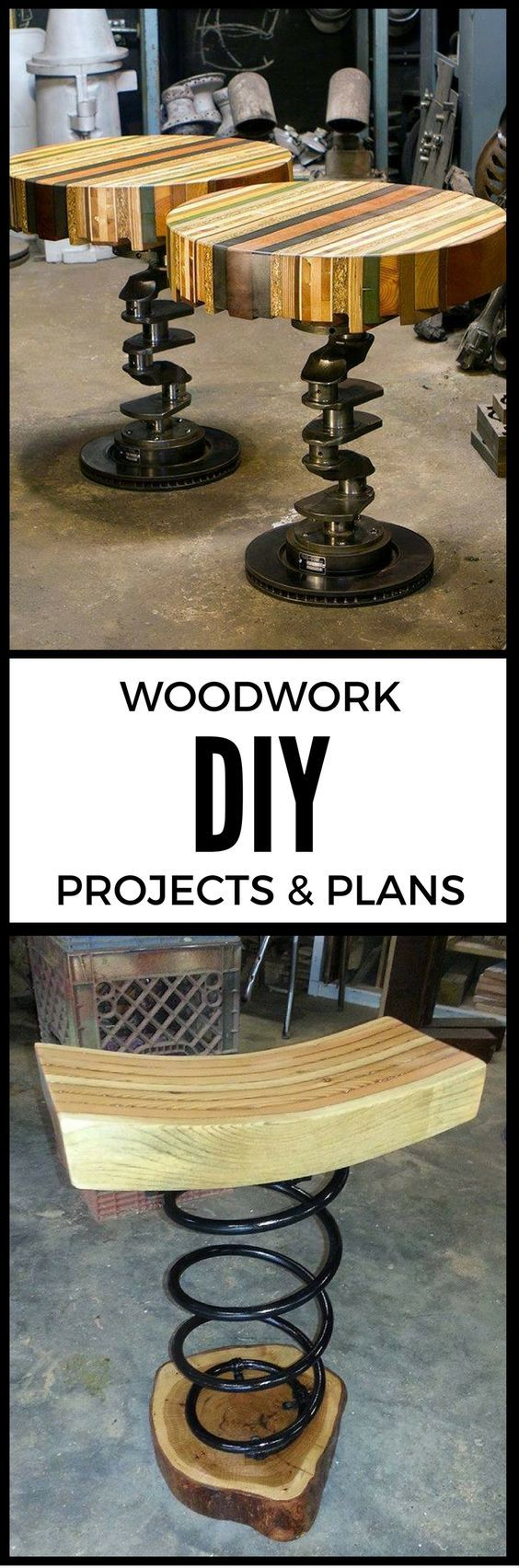 16,000 DIY Woodworking Projects -Do It Yourself DIY Garage Makeover Ideas Include Storage, Organization, Shelves, and Project Plans for Cool New Garage Decor @aegisgears
