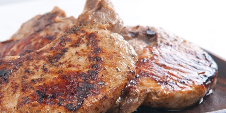 Spice-Rubbed Grilled Pork Chops