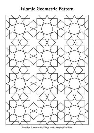 coloring pages islamic patterns meaning - photo#26