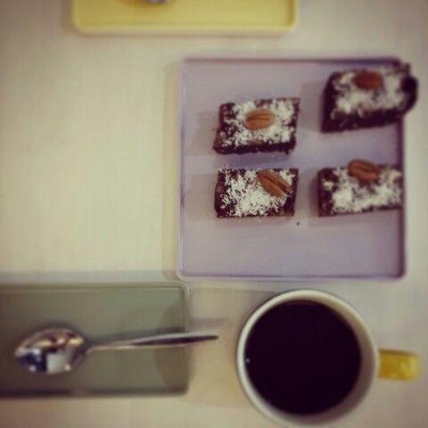 Raw Chocolate Brownies alá Warrior Coffee