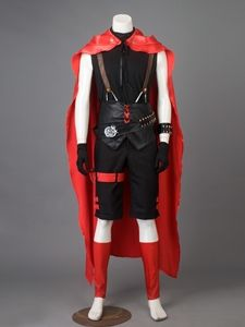 Best RWBY Red Trailer Ruby Rose Cosplay Costume Man Version