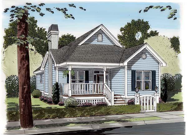 House Plan ID: chp-11527 - COOLhouseplans.com