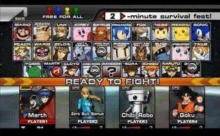 Super Smash Flashunblocked Evrything