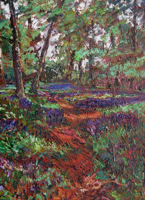 Timmy Mallett - Interests - Painting - bluebells 3