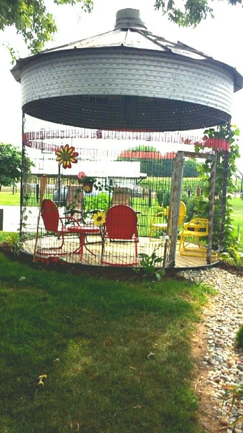 Corn Crib Gazebo!