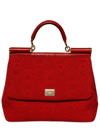 Dolce & Gabbana Top Handle Handbag On Sale, Dark Petrol Blue, Leather, 2017, one size