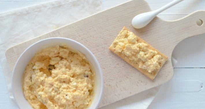 Zelf eiersalade maken met truffel? Zo makkelijk. Kijk zelf maar.