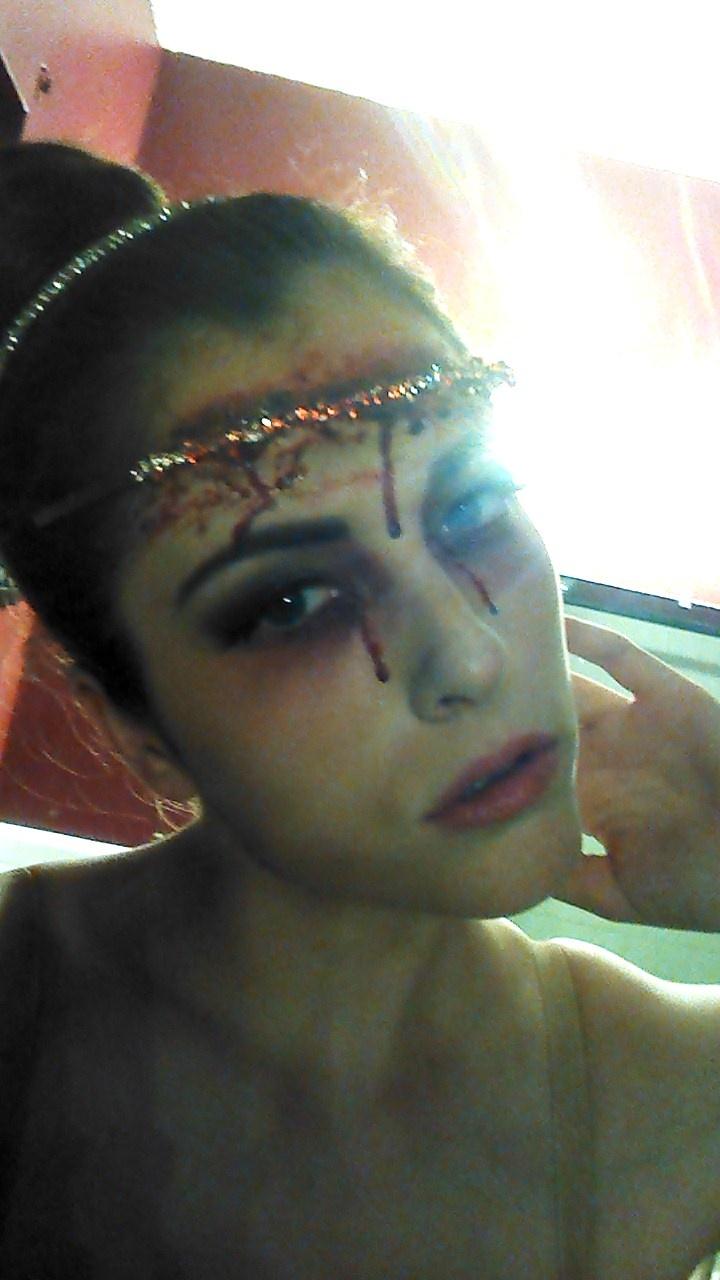 dead ballerina halloween 2012 - Dead Ballerina Halloween Costume