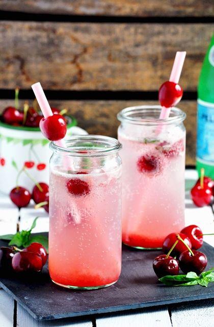 Elodie's Bakery: Cherry basil soda | Limonade au basilic et à la ...