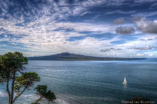 View of Rangitoto Island from North Head, Devonport, via Flickr.