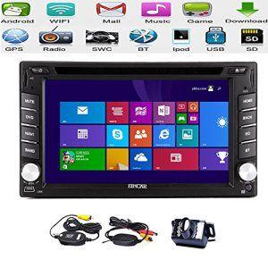 Eincar lecteur DVD Promotion Prix audio! Pur Android 2 din 6.2 » šŠcran tactile capacitif Lecteur DVD de voiture Navigation GPS avec la…