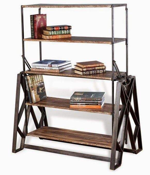 A Shelf Turns To Table FURNITURE Pinterest