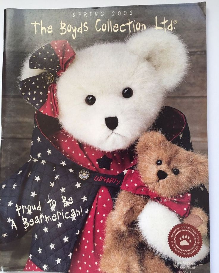 Plush Bears The Boyds Collection,LTD Catalog/ Directory Spring 2002  | eBay