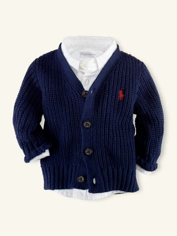 Oh so suave! (Glad little boys fashion is coming along these days)
