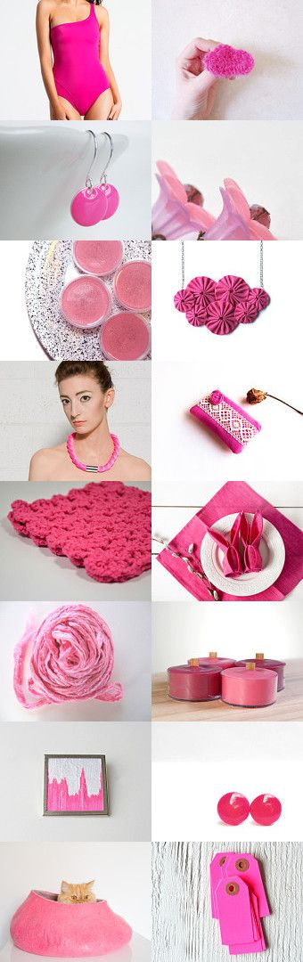 Bubble pink by Georgia on Etsy--Pinned with TreasuryPin.com