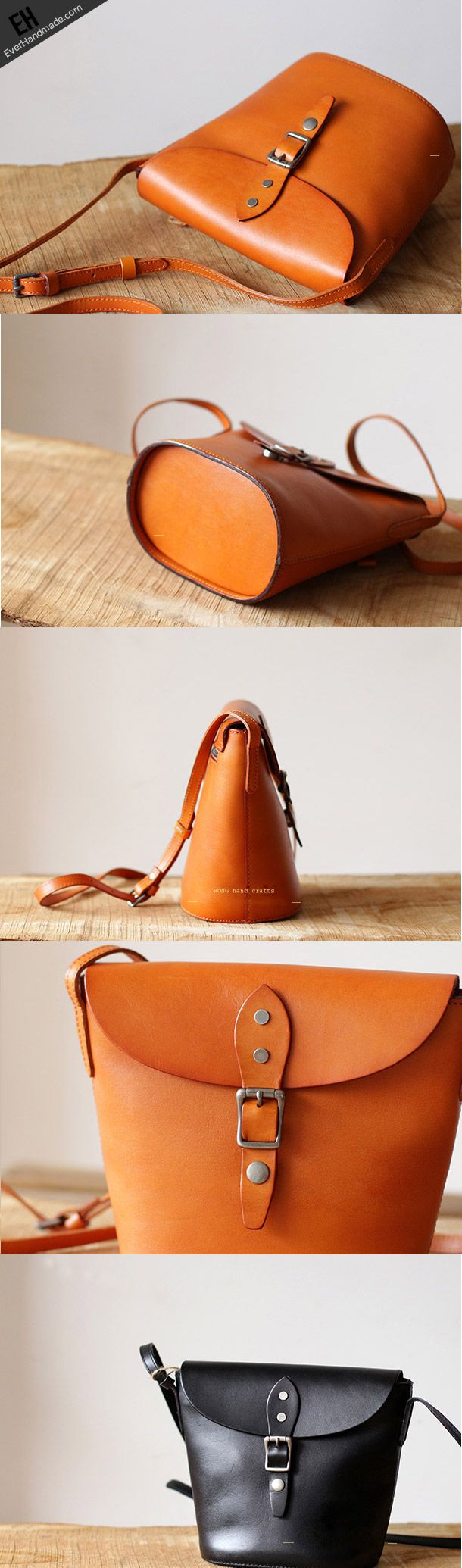 Handmade Leather bag for women leather shoulder bag crossbody