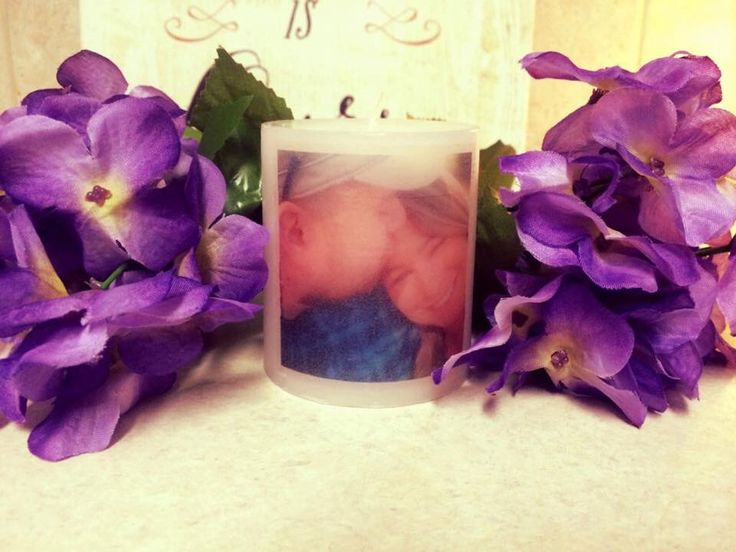 A personal favorite from my Etsy shop https://www.etsy.com/listing/271510156/personalized-photo-candle-pillar-in