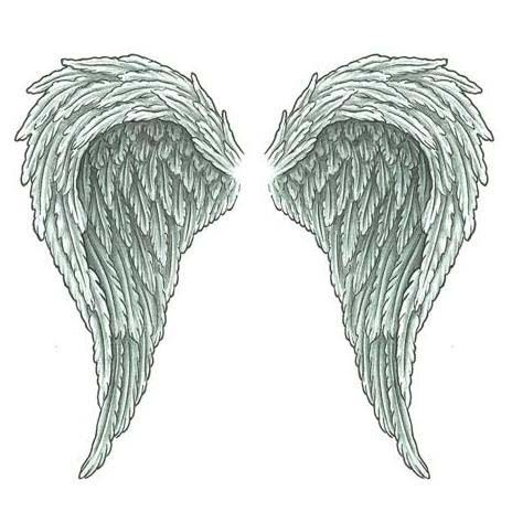 angel wing tattoo designs baseball forever new tattoo forever wings pinterest tattoo. Black Bedroom Furniture Sets. Home Design Ideas